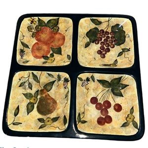 Fruitful Bounty Serving Tray